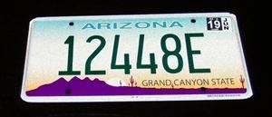 Casita license plate-A