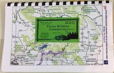 pagosa map
